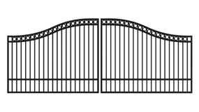 Iron Estate Gates
