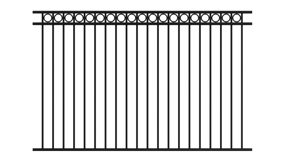 Iron Fence Panels