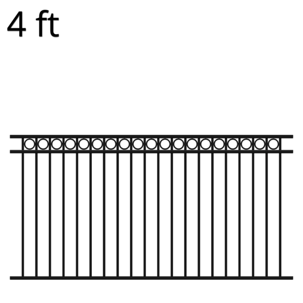 KIDEN48R8-iron-fence-panel-denali-front