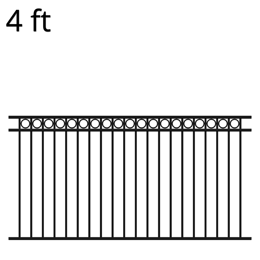 Attractive Shop Iron Fence